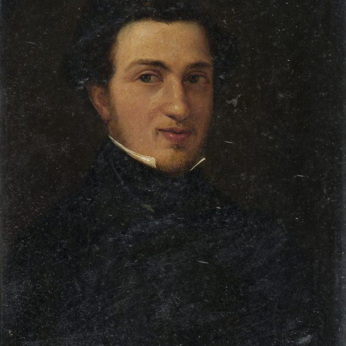 Ο Ι. Καποδίστριας και ο Αλέξανδρος Στούρτζας συγγράφουν την απολογία της Ιεράς Συμμαχίας εκ μέρους του τσάρου Αλέξανδρου Α'.