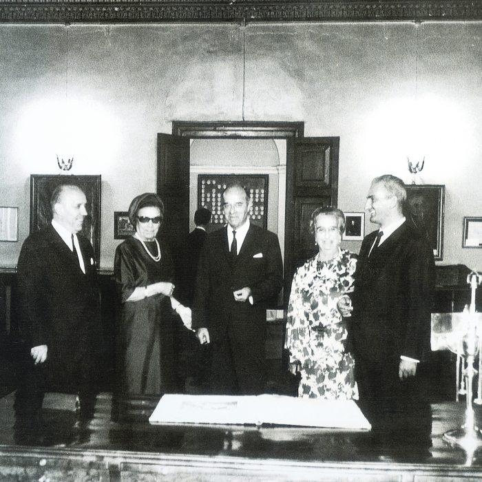 Η Μαρία Καποδίστρια-Δεσύλλα δωρίζει την  Κουκουρίτσα για την δημιουργία Μουσείου Καποδίστρια.