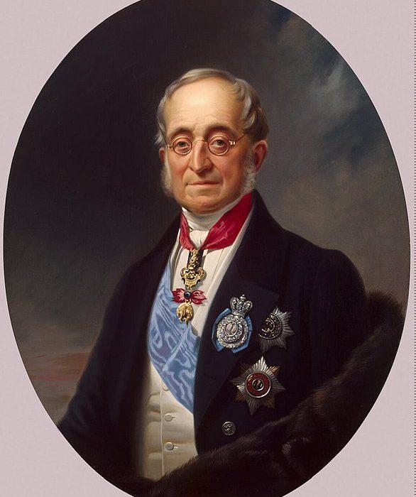 Ο Καποδίστριας γίνεται υπουργών εξωτερικών της Ρωσίας, θέση που μοιράζεται με τον Κ. Β. Νέσσελροντ.
